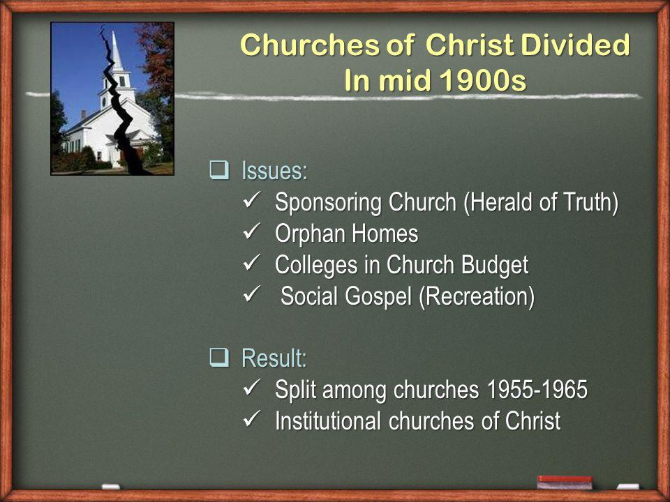 Local Church Elders 1.Members 2.Resources 3.Discipline 4.Worship 5.Work Sponsoring Church Elders ?