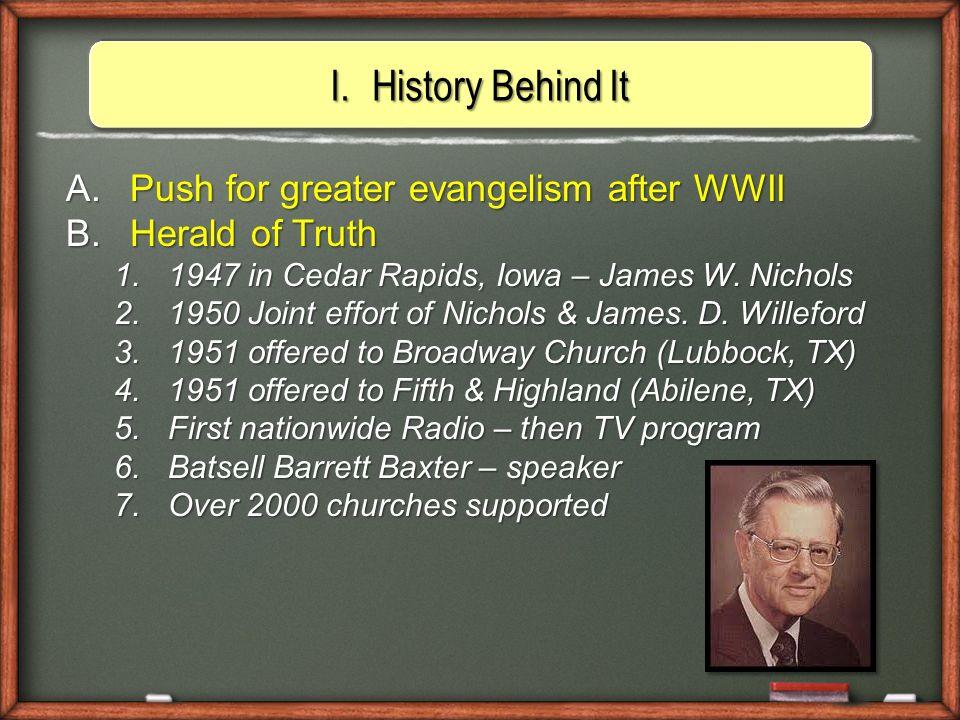 Herald of Truth Local Church Local Church Local Church Local Church $ $ $ $ Radio&TV Fifth & Highland Church Abilene, TX H.