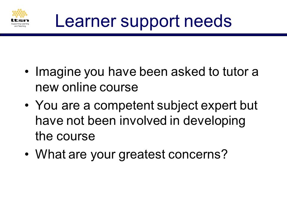 e-learner comments