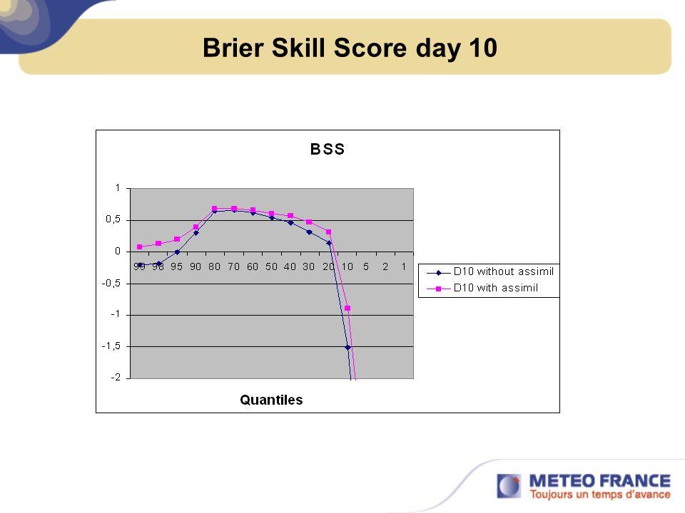 Brier Skill Score day 10