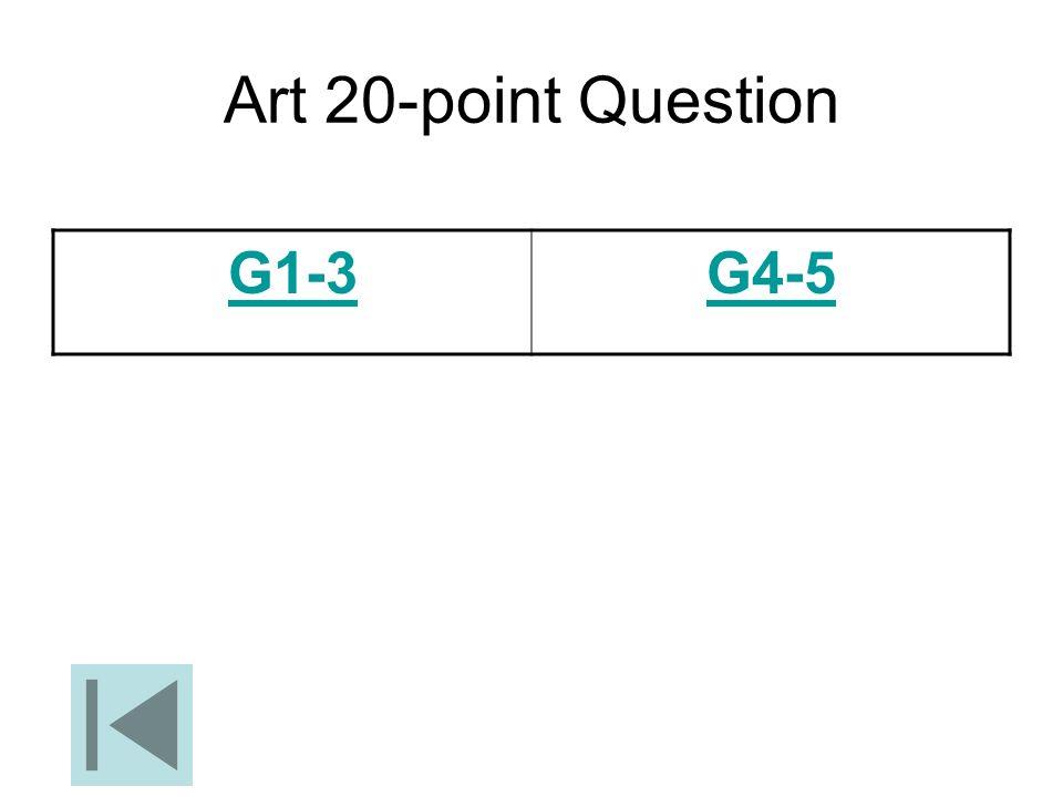 Art 20-point Question G1-3G4-5