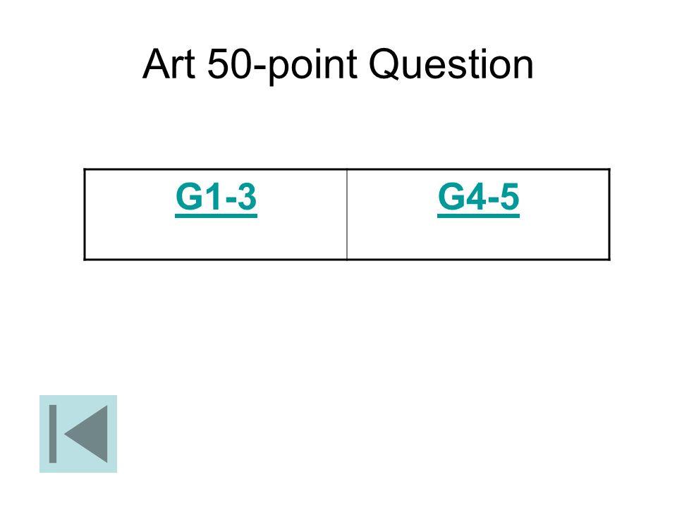 Art 50-point Question G1-3G4-5