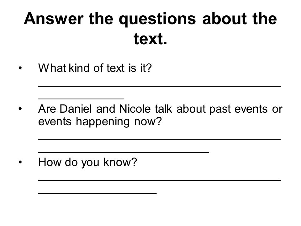 Answer the questions about the text. What kind of text is it.