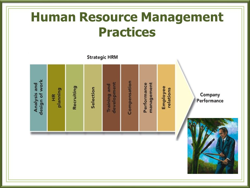 Responsibilities of HR Departments 1.Employment and Recruiting 2.Training and Development 3.Compensation 4.Benefits 5.Employee Services 6.Employee and Community Relations 7.Personnel Records 8.Health and Safety 9.Strategic Planning