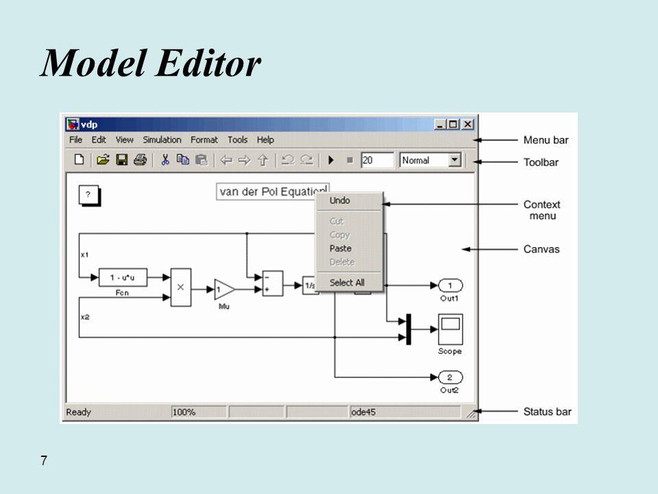 7 Model Editor