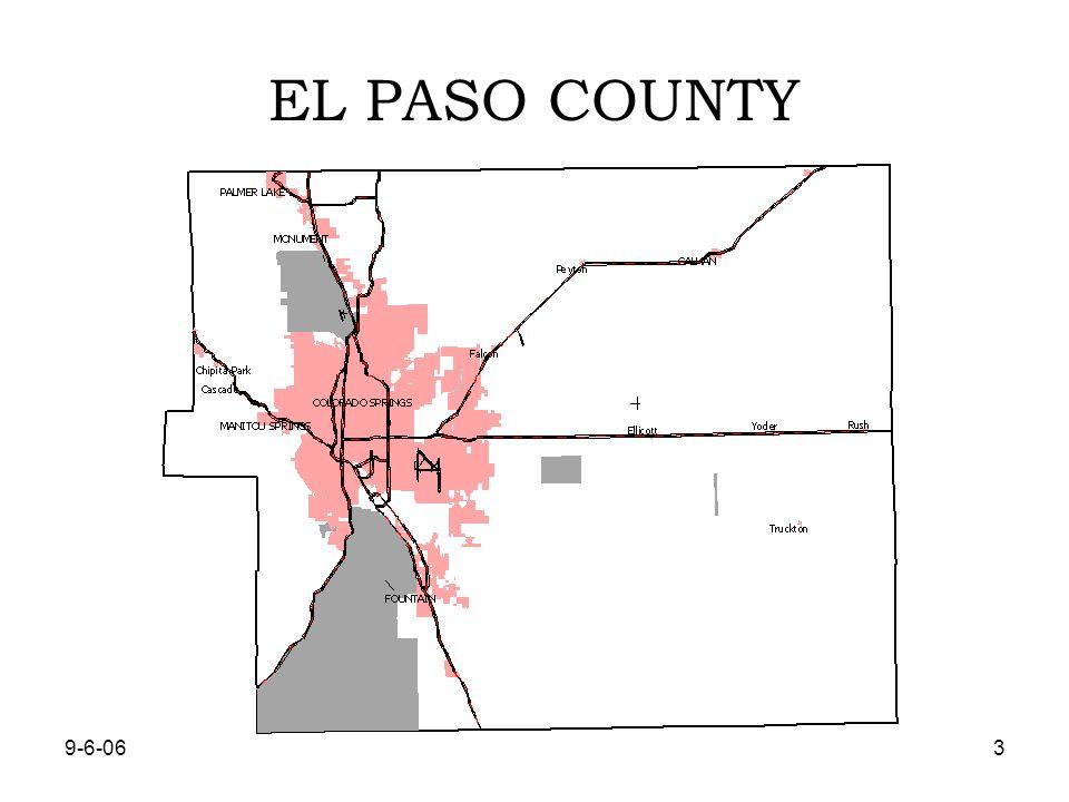 9-6-063 EL PASO COUNTY