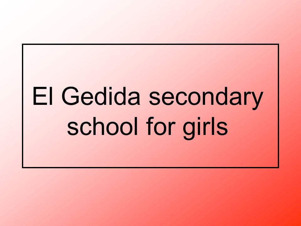 El Gedida secondary school for girls