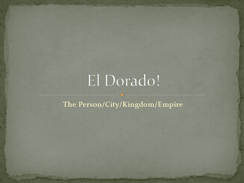 The Person/City/Kingdom/Empire