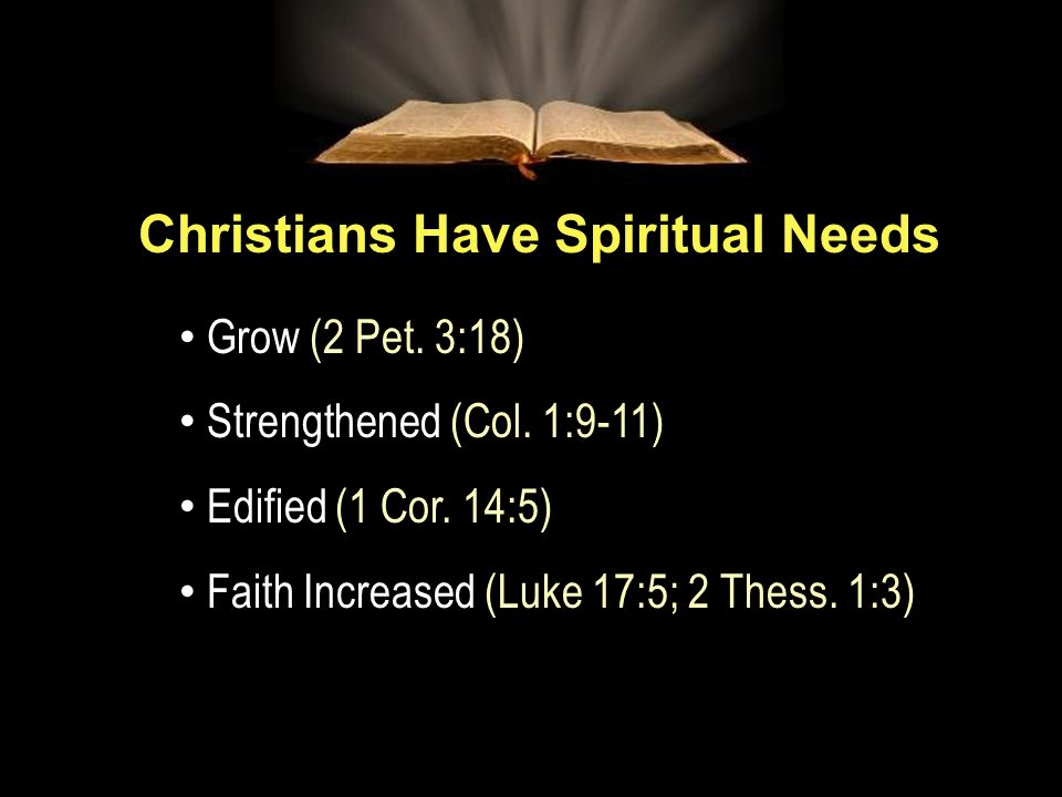 Slide 30 I.Faith II.Edification III.Growth