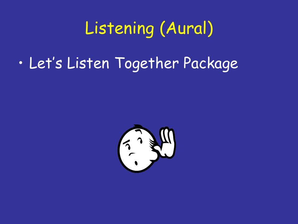 Listening (Aural) Lets Listen Together Package