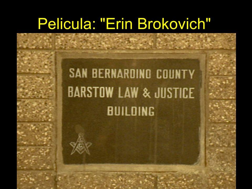Pelicula: Erin Brokovich