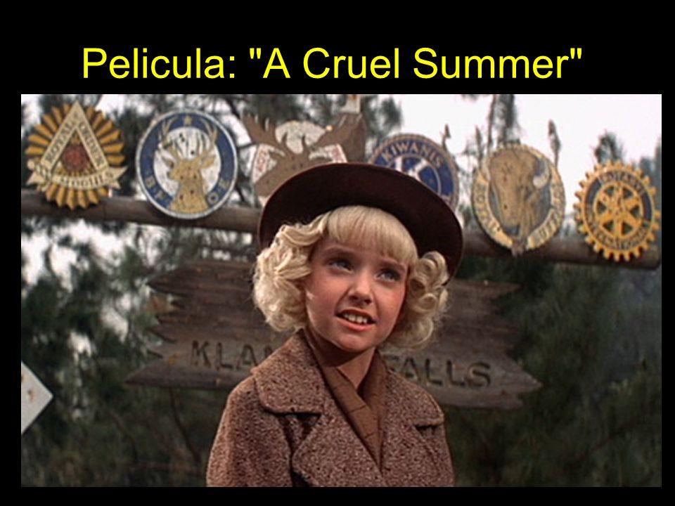 Pelicula: A Cruel Summer
