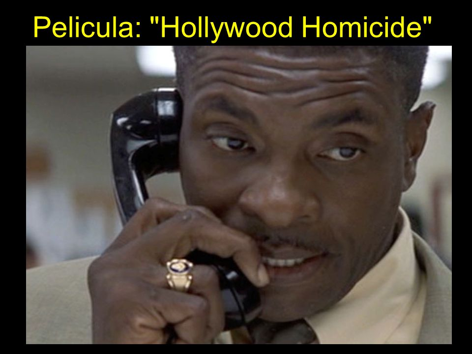 Pelicula: Hollywood Homicide