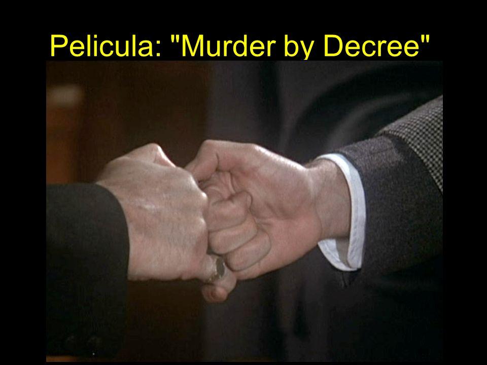 Pelicula: Murder by Decree