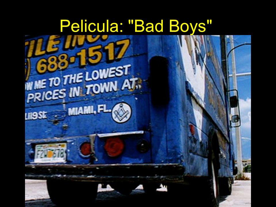 Pelicula: Bad Boys