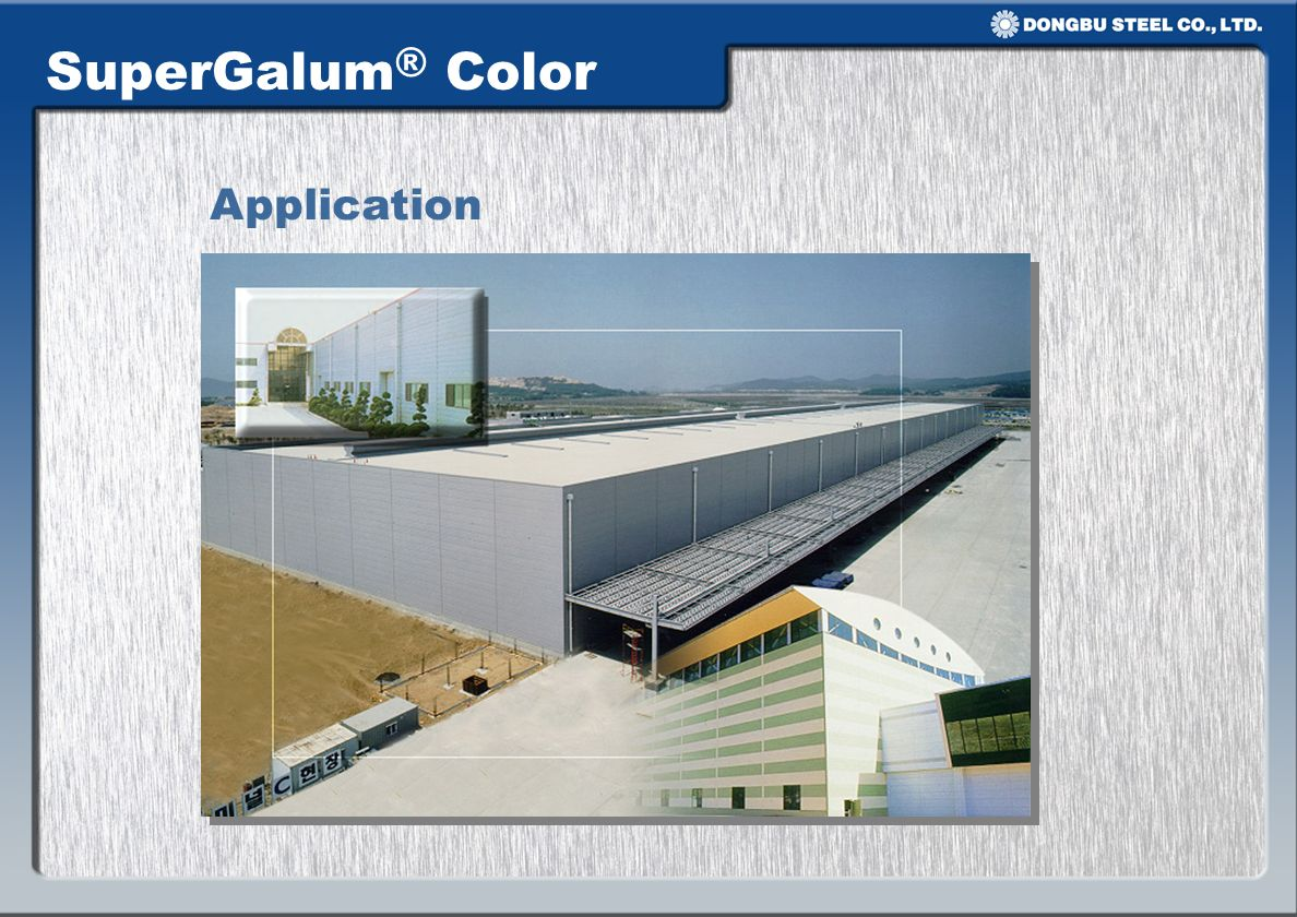 SuperGalum® Color Application