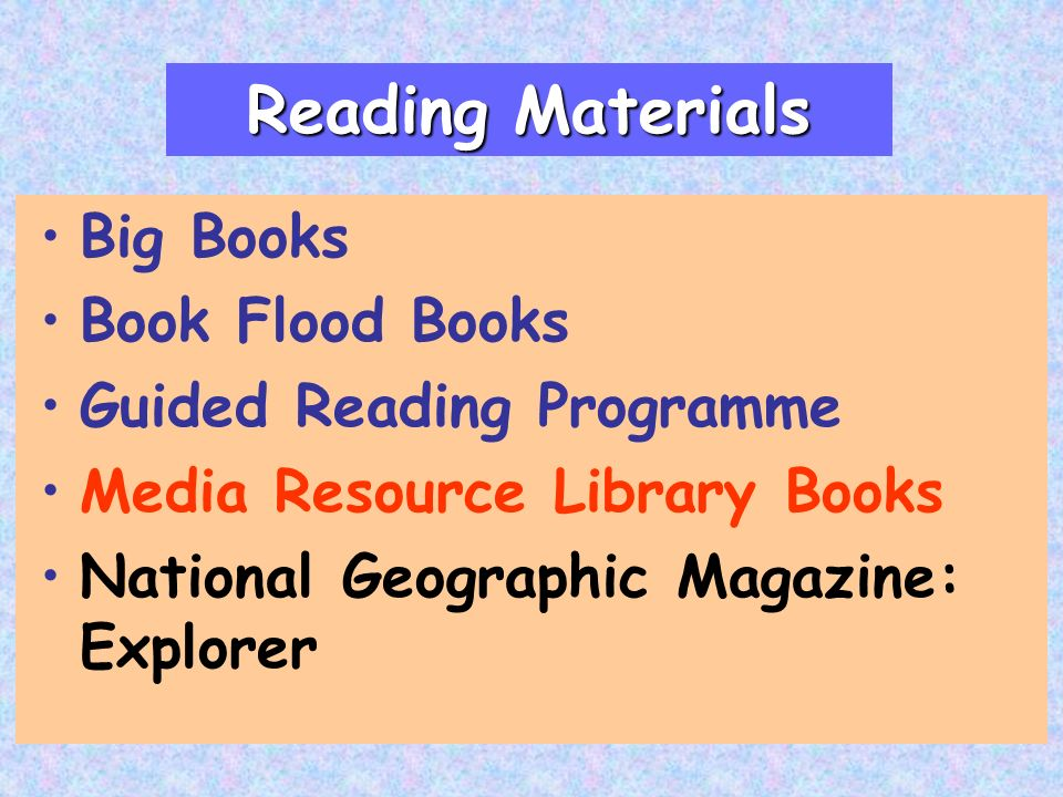 Big Books Book Flood Books Guided Reading Programme Media Resource Library Books National Geographic Magazine: Explorer Reading Materials