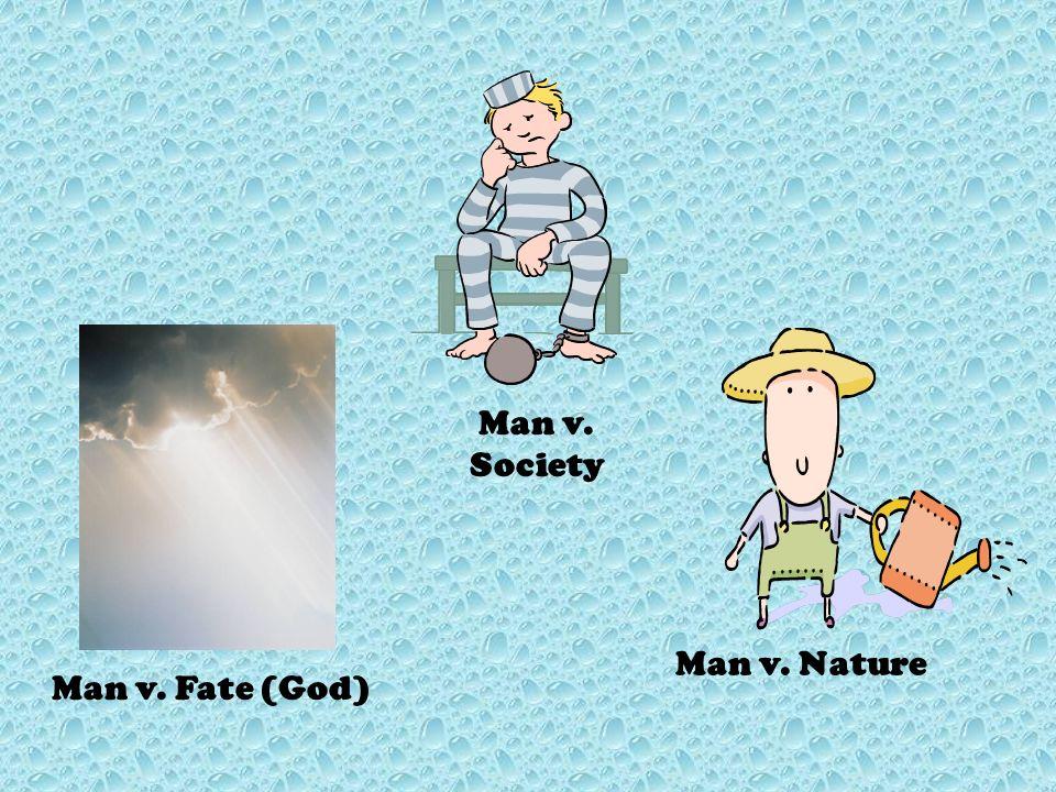 Man v. Man Man v. Self Types of Conflict