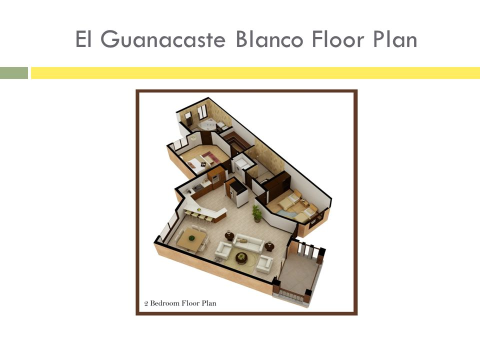 El Guanacaste Blanco Floor Plan