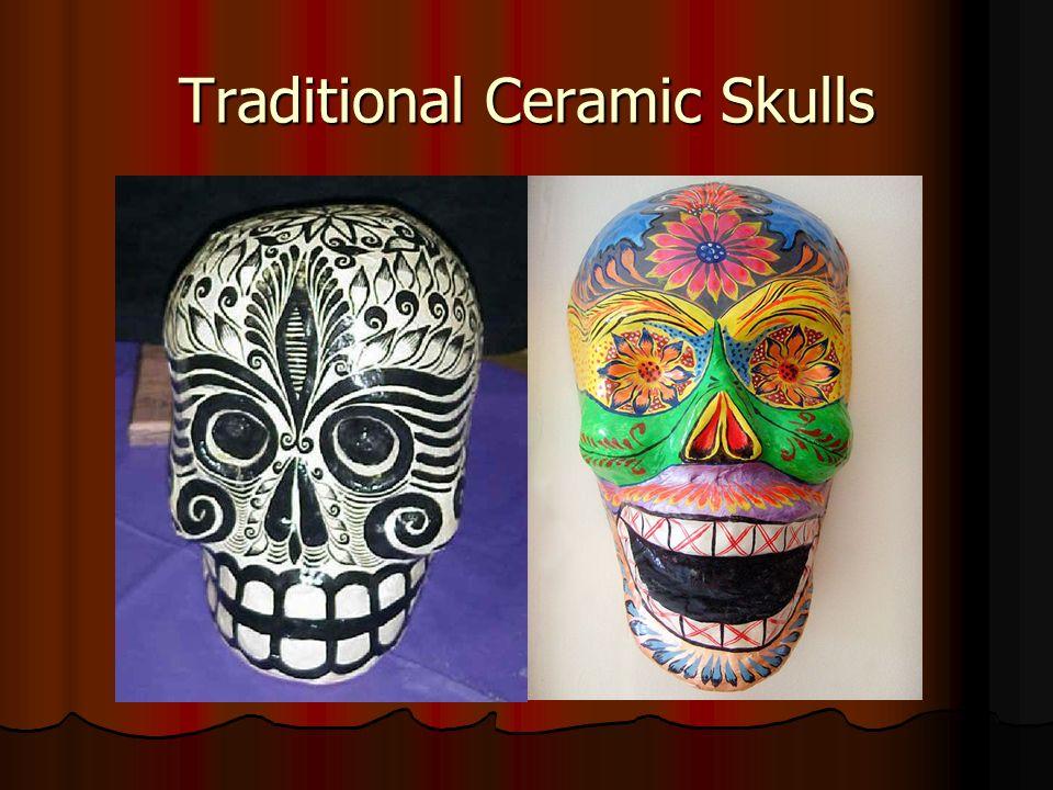 Traditional Ceramic Skulls