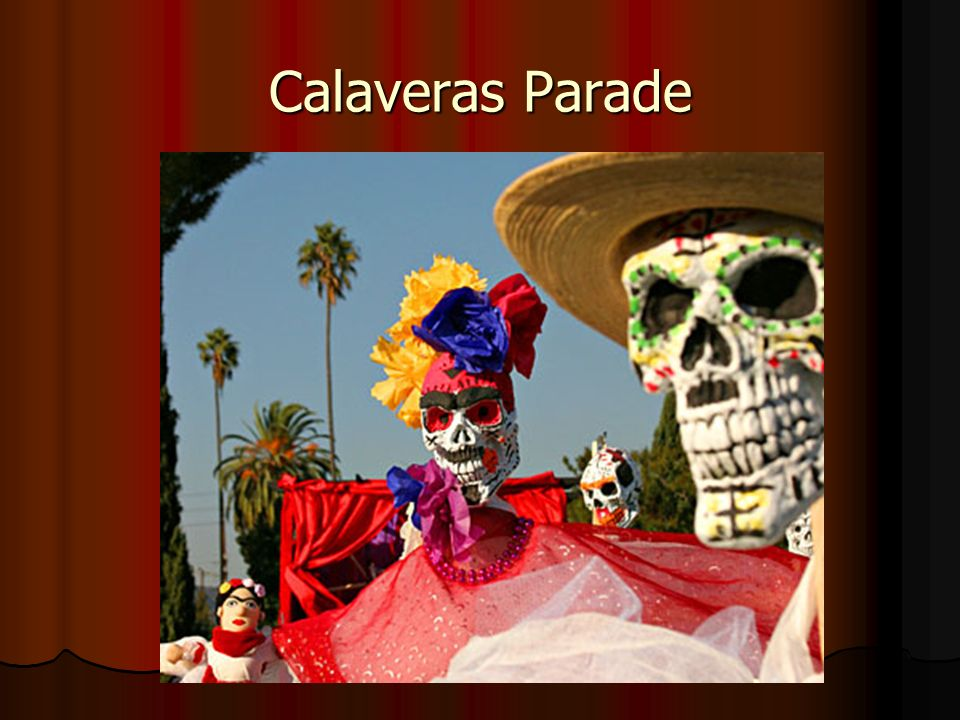 Calaveras Parade