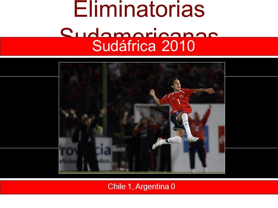 Eliminatorias Sudamericanas Chile 1, Argentina 0 Sudáfrica 2010