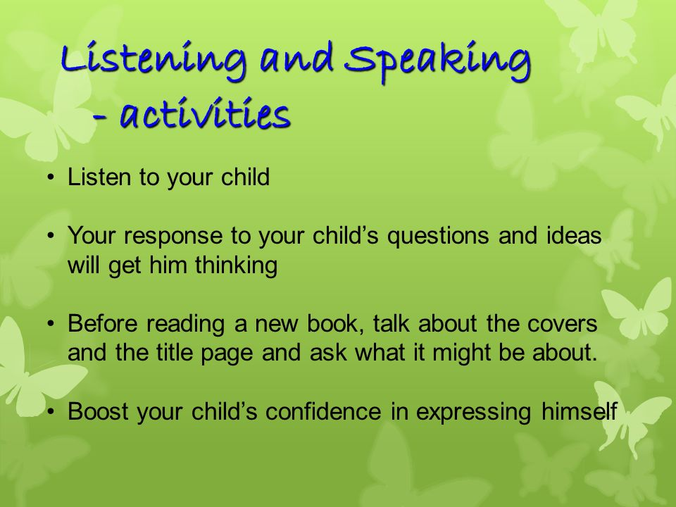 Writing - activities Model writing to your child Short notes, reflections, personal responses Encourage self-expression