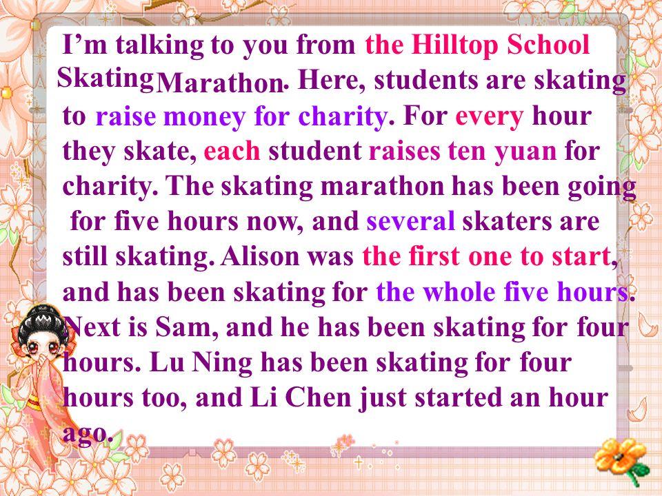 School MarathonSkating