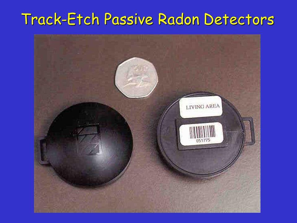 Track-Etch Passive Radon Detectors