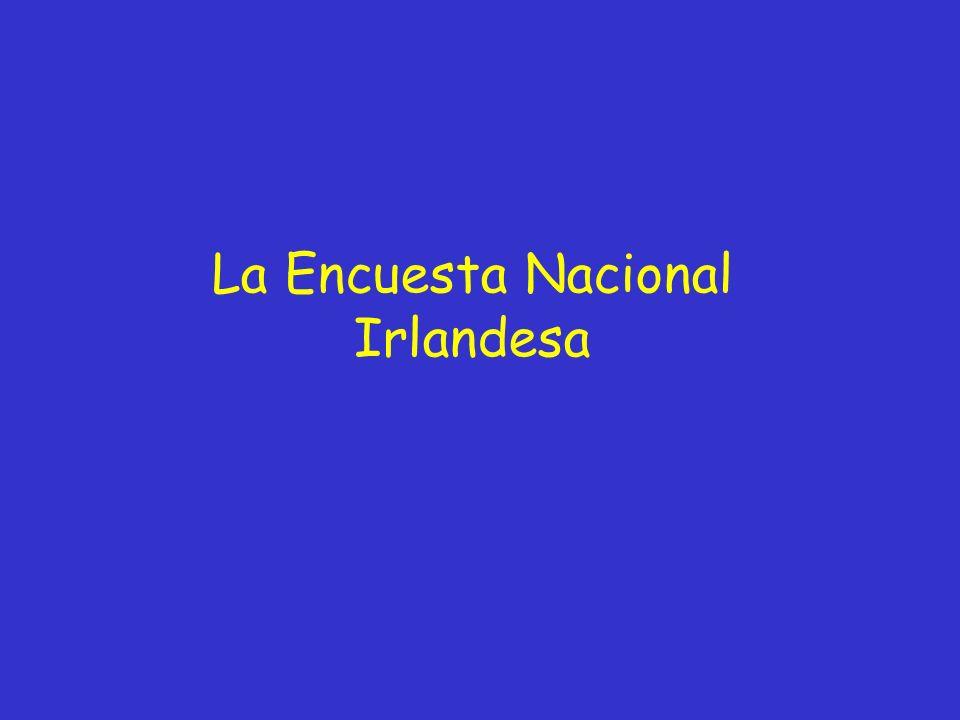 La Encuesta Nacional Irlandesa