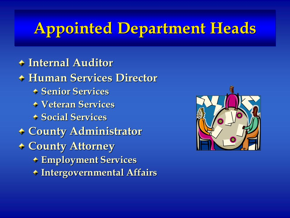 Administrative Departments – External Services Development Services Environmental Services Justice Services Parks & Leisure Services Public Communications Transportation