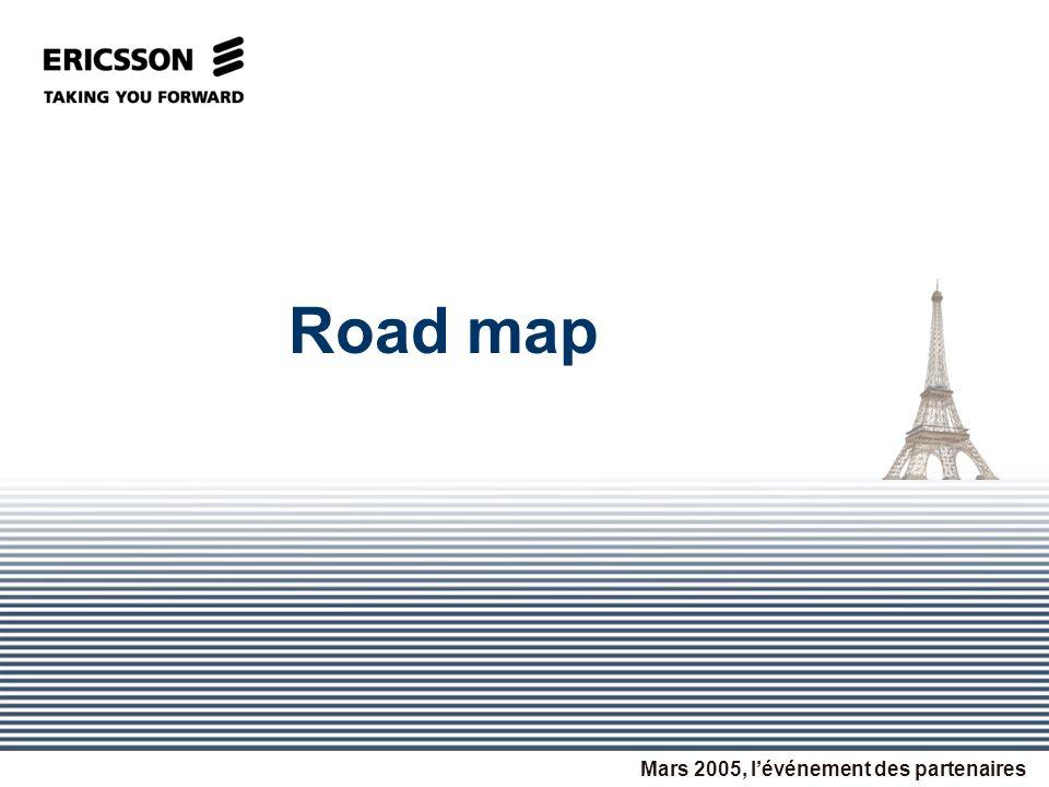 Road map Mars 2005, lévénement des partenaires