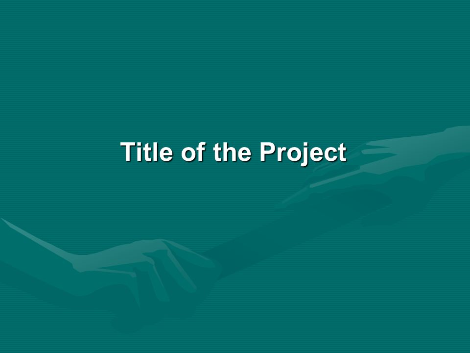 Introduction of the Project Describe brief and comprehensive introduction of your project topic.