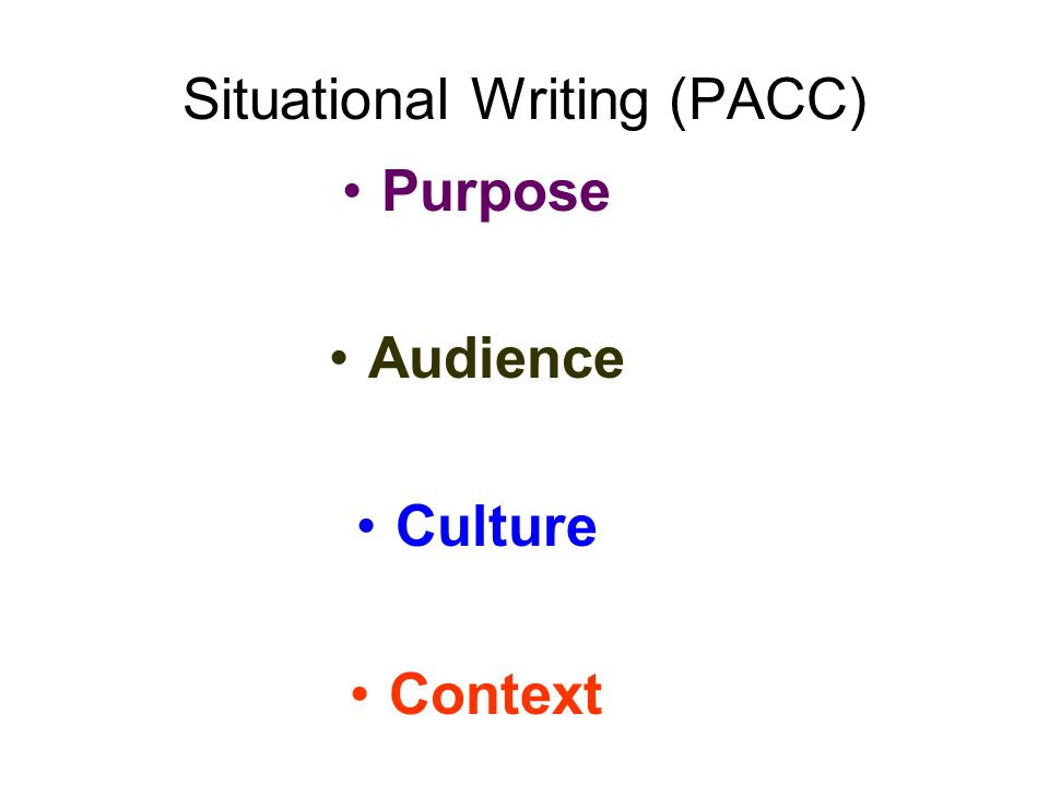 Continuous Writing (EL & FEL) CONTENT - Relevant and thoroughly developed ideas