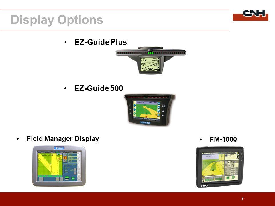 8 EZ-Guide 500 interface