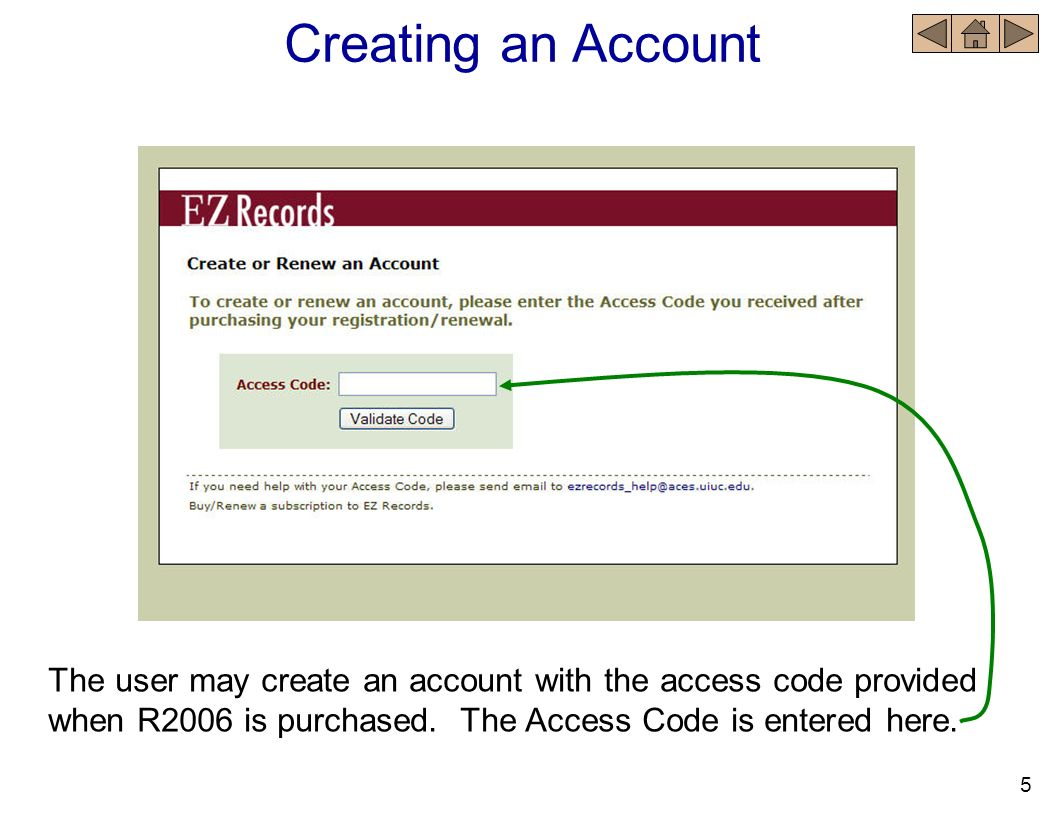 Account Renewal When viewing the Record Book Main Page – 30 days prior to an account expiring a message will appear notifying the user the number of days prior to subscription expiration.