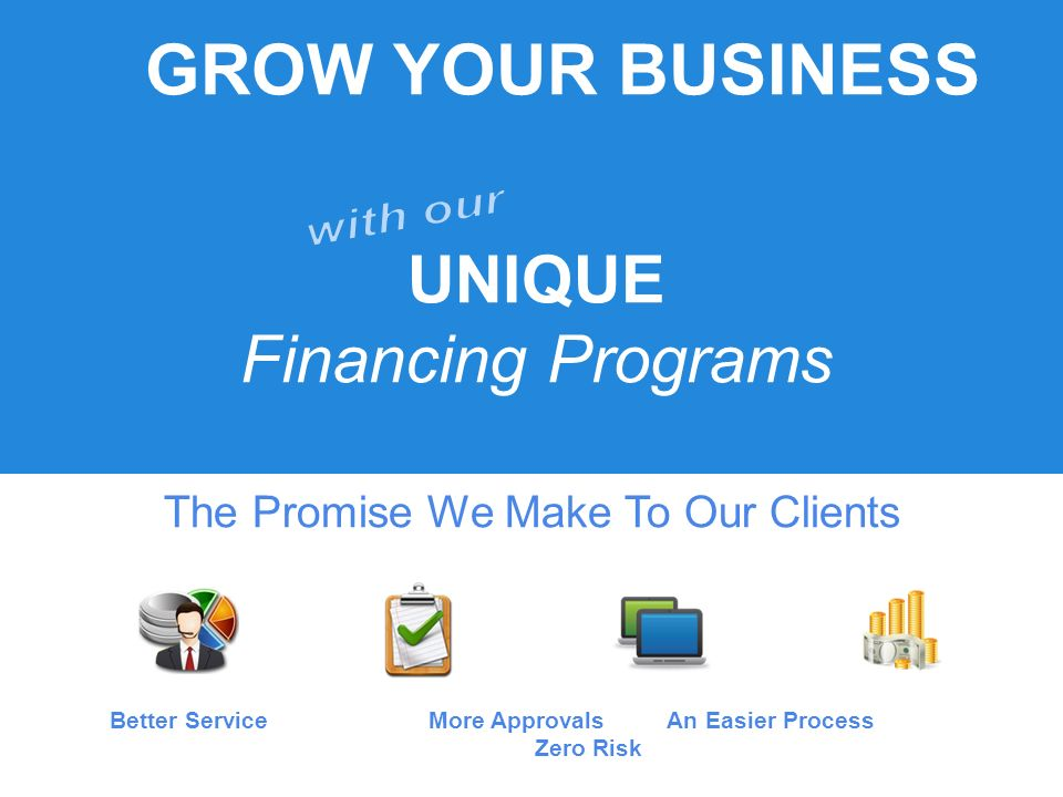Fill Out Contact Form To Receive A FREE EVALUATION Of Your Business To See Which Financing Solution Works Best For You.