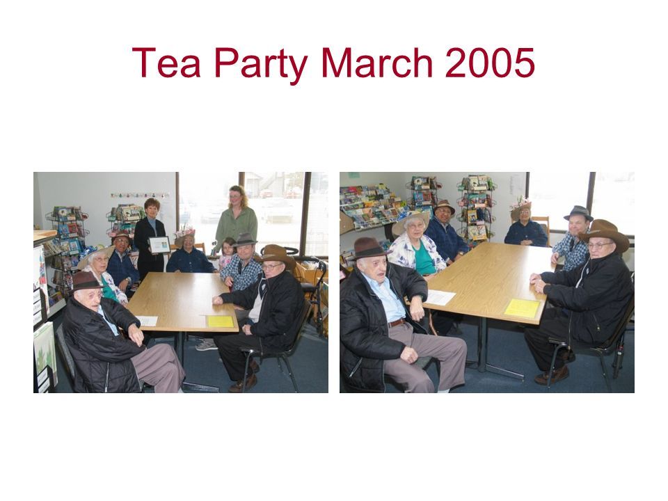 Tea Party March 2005