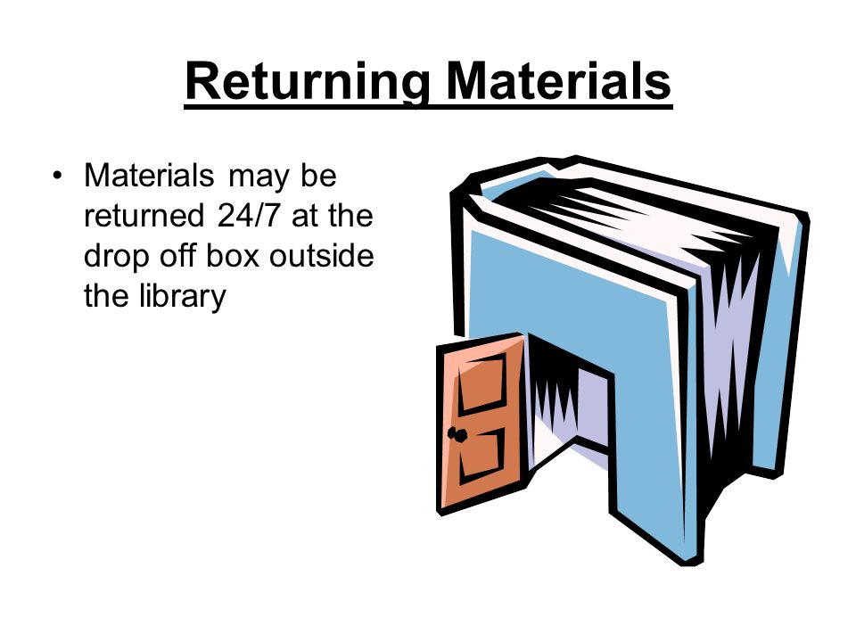 Requesting Materials Material may be requested, at no charge, from any of the libraries in TRAC Items may be requested at www.tracpac.ab.ca Available titles will arrive in about a week You will be notified by phone when your request has arrived Suggestions for new material may be made by filling out a request card and dropping it off in the Suggestion Box @ the library