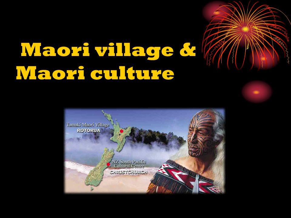 Maori village & Maori culture