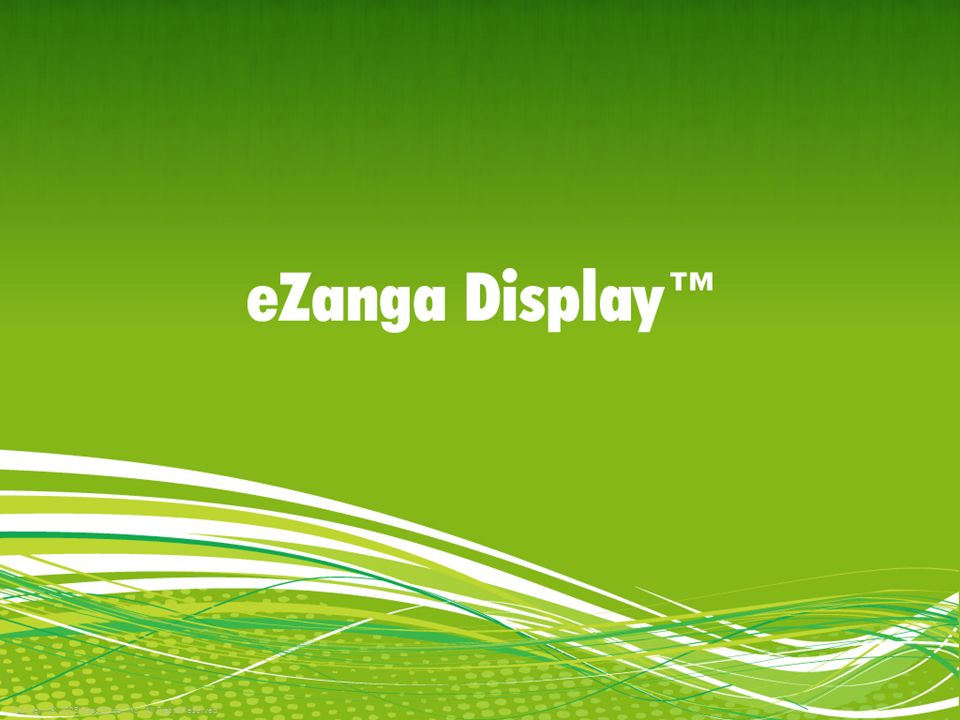 Their Time is Spent Searching and Surfing Searching on Yahoo (getting married, needs wedding dress) Clicks on sponsored ad provided by eZanga SEM Visits the eZanga advertiser (bridal) website eZanga SEM targets people who are ready to buy and are searching online.