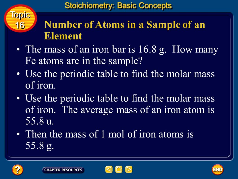 For example, the element oxygen exists as molecules composed of two oxygen atoms, so a mole of oxygen molecules contains 2 mol of oxygen atoms.