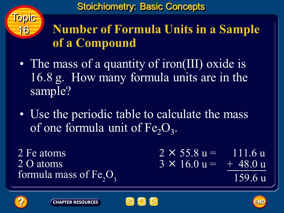Calcium chloride, CaCl 2, an ionic compound. Molar Mass of a Compound Stoichiometry: Basic Concepts Topic 16 Topic 16