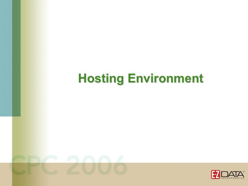 Hosting Environment
