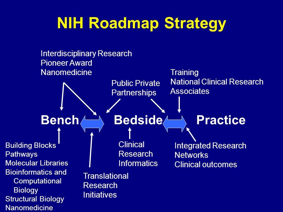 BenchBedsidePractice Building Blocks Pathways Molecular Libraries Bioinformatics and Computational Biology Structural Biology Nanomedicine Translation