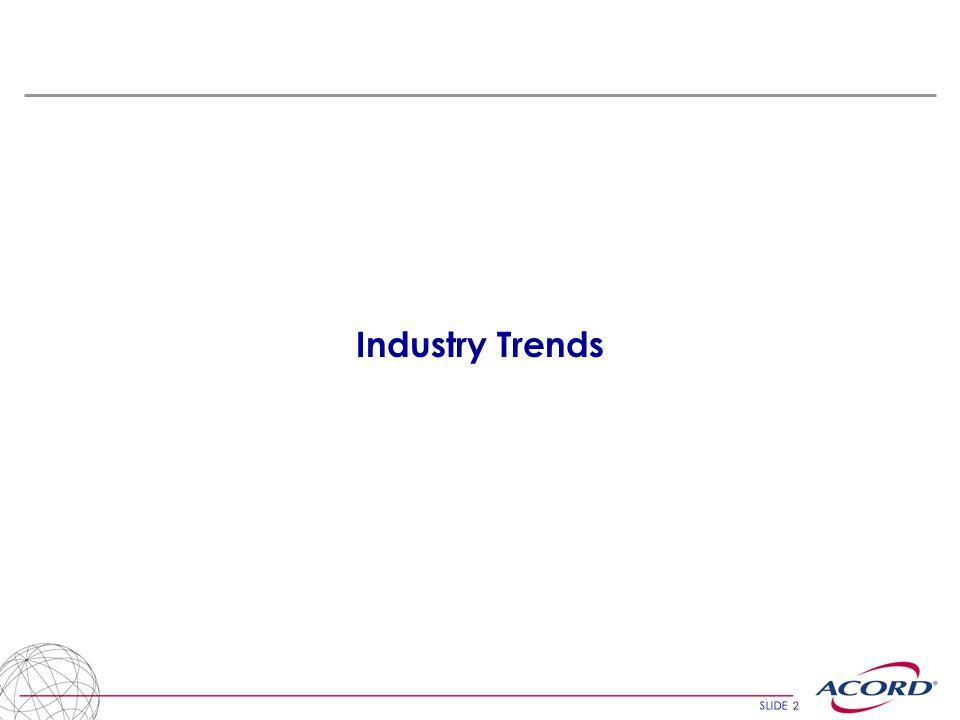 SLIDE 2 Industry Trends