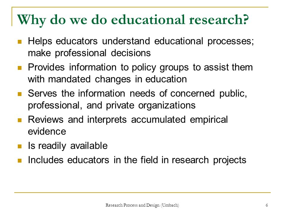 The Research Process general definitions general discussion of your issue and related topics specific research that is related to your topic existing work on your topic who, why, where, when, findings, shortcomings general conclusions about work done to date Review the literature Review the literature