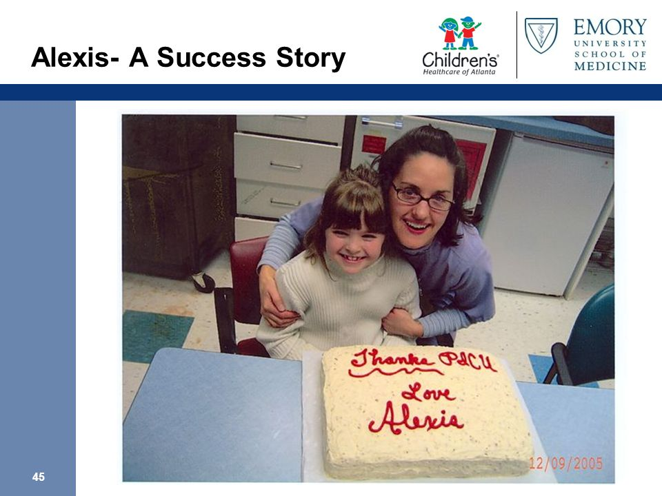 45 Alexis- A Success Story