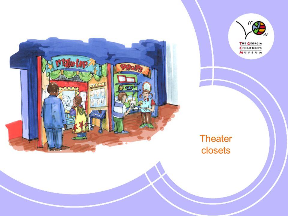 Theater closets