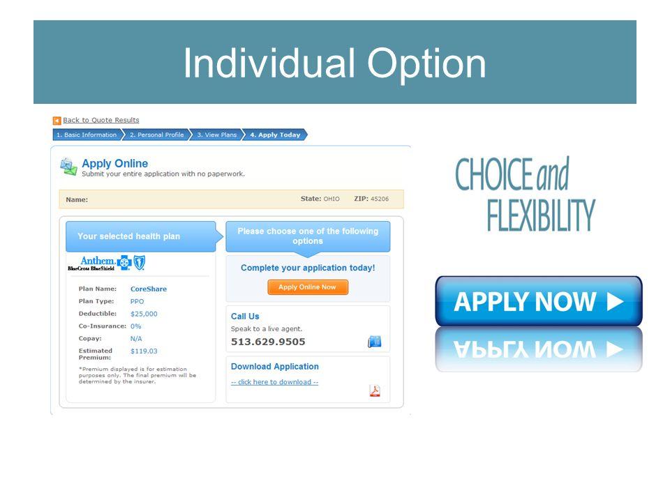 Individual Option